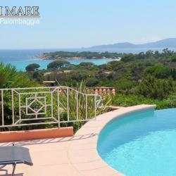 Villa avec vue mer et piscine chauffée à Palombaggia