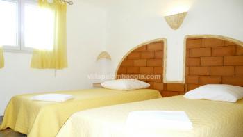 Une des 3 Chambres de la villa à Palombaggia