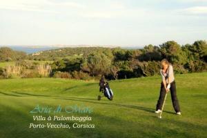 Golf à Bonifacio en Corse