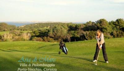 Golf de Spérone à Bonifacio en Corse