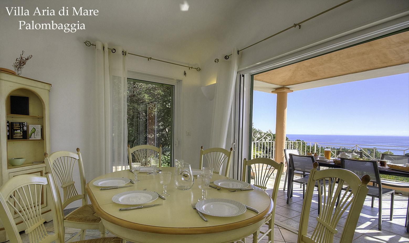 Location villa Palombaggia bord de mer