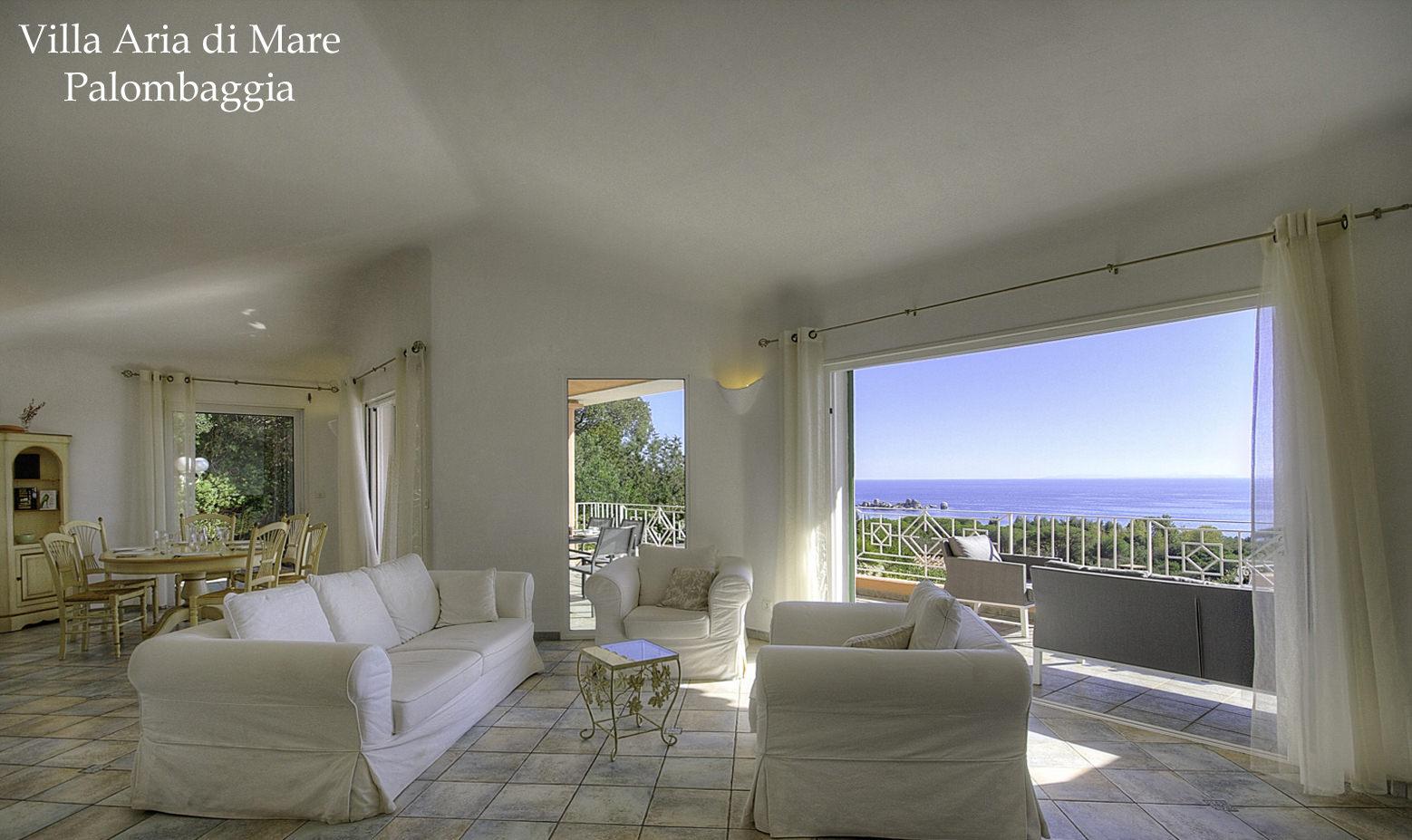 Location villa palombaggia villa luxe avec piscine porto vecchio villa bord de mer for Location de maison
