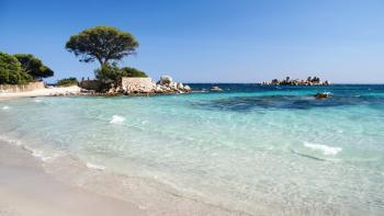 La villa est à 400m de la plage de Palombaggia